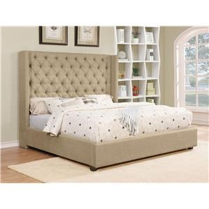 Full Upholstered Bed Set