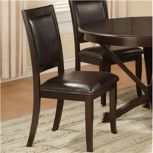 Lifestyle D613 Upholstered Dining Side Chair Set