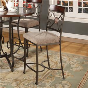 Lifestyle DC067 Metal Stool (Counter Height)