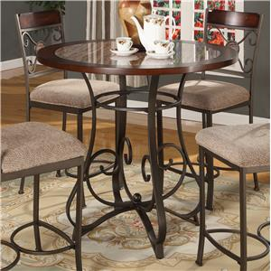Lifestyle DC067 Metal Pub Table (Counter Height)