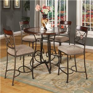 Lifestyle DC067 Metal Pub Table and Chair Set