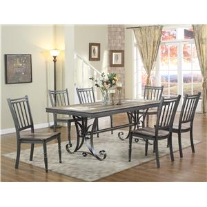 Lifestyle DC340 Metal Table and Chair Set