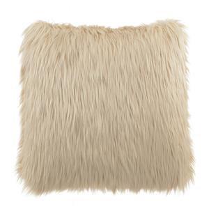 Blush Faux Fur Pillow