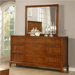 Lifestyle Oakridge  Dresser and Mirror