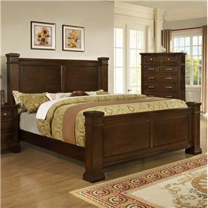 Lifestyle Timber King Bed
