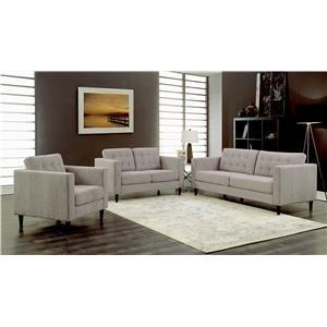 Sofa, Loveseat & Chair Set