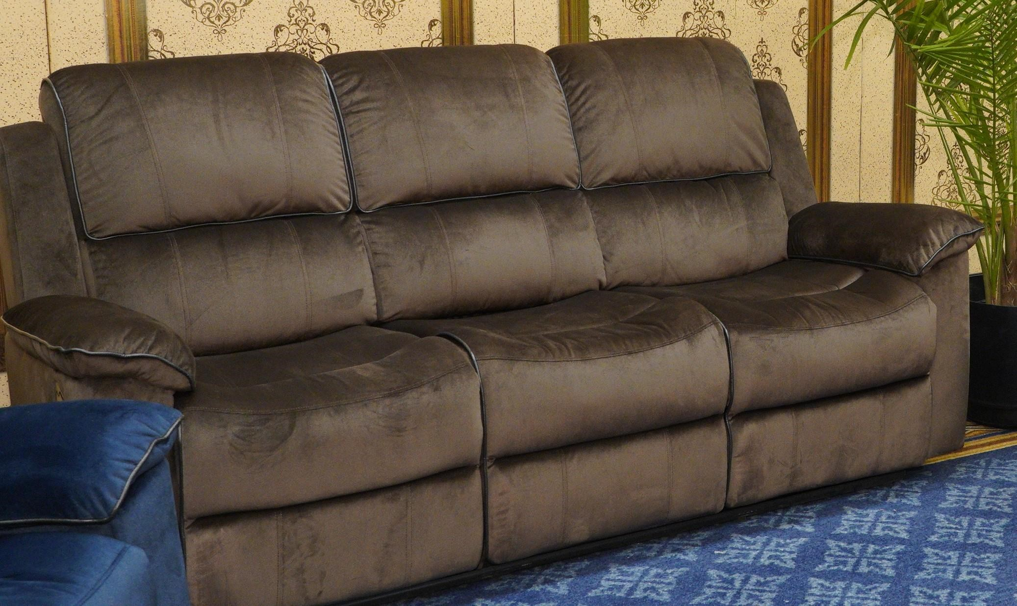 U80183 URBINO Reclining Sofa by Lifestyle at Furniture Fair - North Carolina