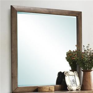 Lifestyle Walnut Parquet Mirror
