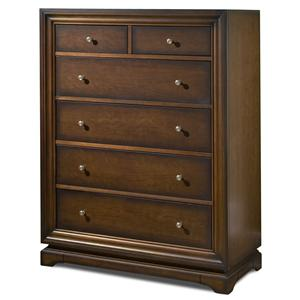 Six Drawer High Chest