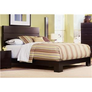 Ligna Furniture Carmel Queen Low Platform Bed