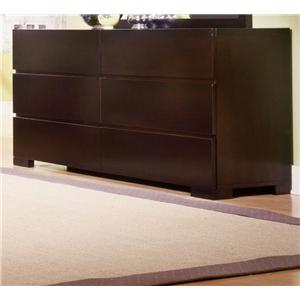 Ligna Furniture Carmel 6 Drawer Dresser