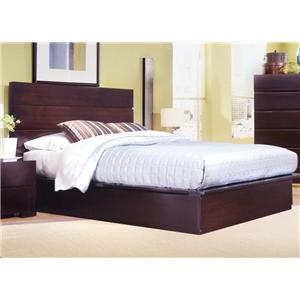 Ligna Furniture Carmel Queen Storage Platform Bed
