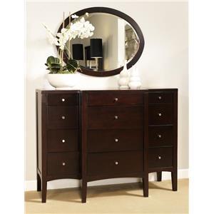 Ligna Furniture Port Dresser and Mirror