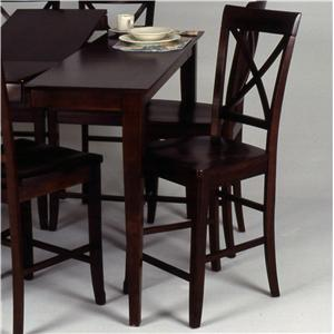 "Ligo Products Contemporary ""X"" Back Counter Chair"