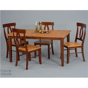 Ligo Products Contemporary 5 Pc. Table & Chair Set