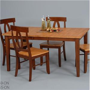 Ligo Products Contemporary Parson Leg Table