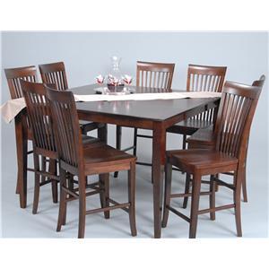Ligo Products Contemporary Contemporary Counter Height Dining Set
