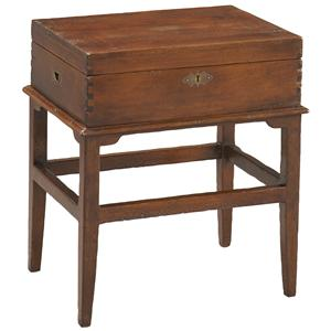 Lillian August Antiquaire Skylar Document Box on Stand
