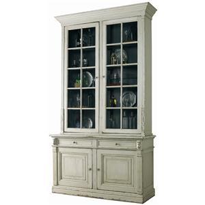 Lillian August Antiquaire Titan Two Door Display Cabinet