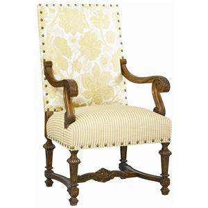 Lillian August Custom Upholstery Vandam Hall Chair
