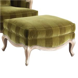 Lillian August Custom Upholstery Sophia Ottoman
