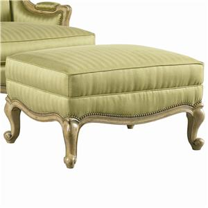 Lillian August Custom Upholstery Candace Ottoman