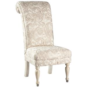 Lillian August Custom Upholstery Carlyle Armless Chair