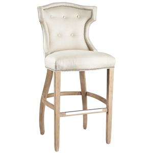 Lillian August Custom Upholstery Quinn Bar Stool