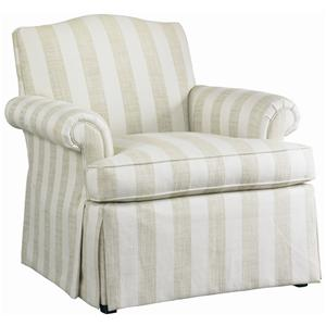 Lillian August Custom Upholstery Waldorf Chair