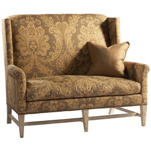 Lillian August Custom Upholstery Tennyson Settee