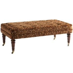 Lillian August Custom Upholstery Cavendish Ottoman