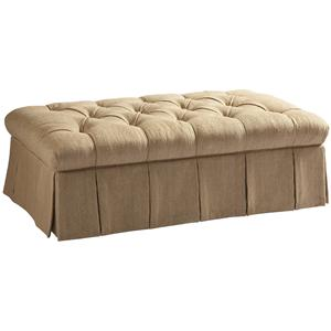 Lillian August Custom Upholstery Kendall Ottoman