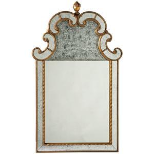 Lillian August Wood Beauvoir Mirror