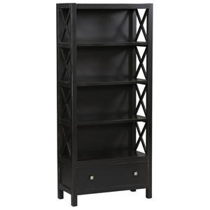 Linon Anna Anna 5 Shelf Bookcase