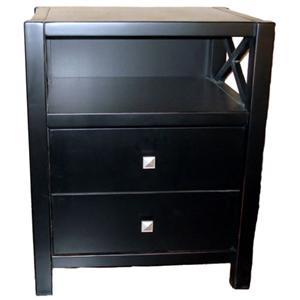 Linon Anna End Table/Printer Stand