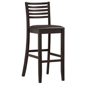 """Linon Bar and Counter Stools Triena 30"""" Ladder Bar Stool"""