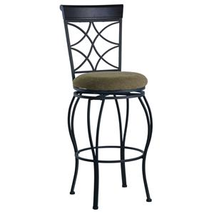 "Linon Bar and Counter Stools 24"" Curves Counter Stool"