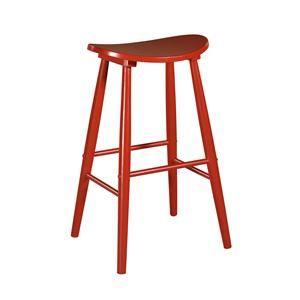 "Linon Bar and Counter Stools 24"" Curved Stool"