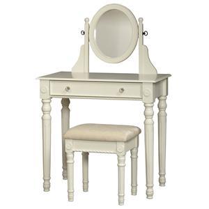 Linon Bedroom Lorraine Vanity Set