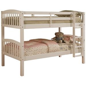 Linon Bedroom Mission Bunkbed