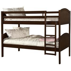 Linon Bedroom Paula Bunk Bed