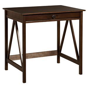 Linon Home Office Titian Laptop Desk