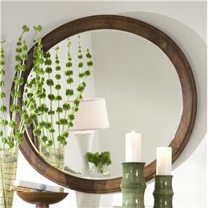 Linwood Furniture Baisley Park Oval Mirror