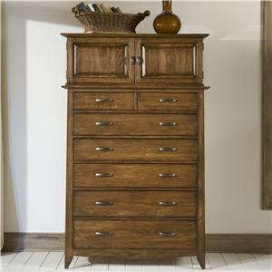 Linwood Furniture Baisley Park Chest and Dressing Cabinet Deck