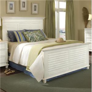 Linwood Furniture Villages of Gulf Breeze King Panel Bed