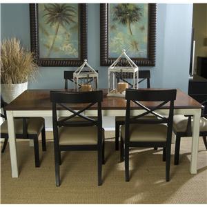 Linwood Furniture Villages of Gulf Breeze Rectangular Leg Table