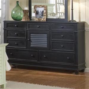 Linwood Furniture Villages of Gulf Breeze Triple Drawer Dresser