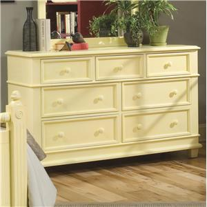 Linwood Furniture Villages of Gulf Breeze Double Dresser