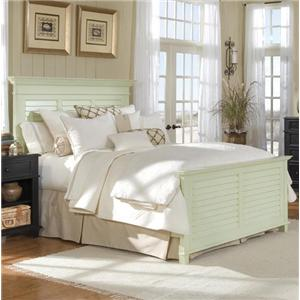 Linwood Furniture Villages of Gulf Breeze Queen Panel Bed