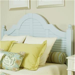 Linwood Furniture Villages of Gulf Breeze Queen Shutter Headboard